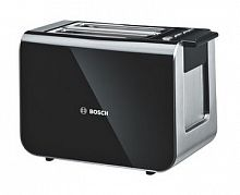 Тостер Bosch TAT8613 860Вт черный