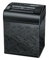 Шредер Fellowes PowerShred Shredmate CRC-37005 (секр.P-4)/фрагменты/4лист./4.5лтр./скобы/пл.карты