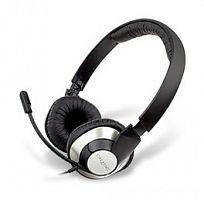 Наушники с микрофоном Creative HS-720 серебристый/черный 2м накладные USB оголовье (51EF0410AA004)