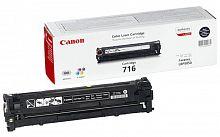 Картридж лазерный Canon 716BK 1980B002 черный (2300стр.) для Canon LBP-5050/5050N
