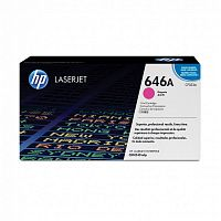 Картридж лазерный HP 646A CF033A пурпурный (12500стр.) для HP CM4540