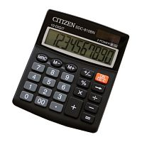 Калькулятор бухгалтерский Citizen SDC-810BN черный 10-разр.