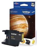 Картридж струйный Brother LC1240Y желтый для Brother MFC-J6510DW/J69010DW