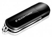 Флеш Диск Silicon Power 16Gb LuxMini 322 SP016GBUF2322V1K USB2.0 черный