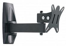 "Кронштейн для телевизора Holder LCDS-5004 металлик 10""-26"" макс.25кг настенный поворот и наклон"