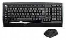Клавиатура + мышь A4 9300F клав:черный мышь:черный USB беспроводная Multimedia