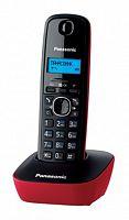 Р/Телефон Dect Panasonic KX-TG1611RUR красный/черный АОН