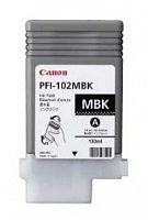 Картридж струйный Canon PFI-102MBK 0894B001 черный матовый для Canon iPF500/600/700/610/710