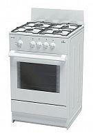 Плита Газовая Darina S GM 441 001 W белый реш.сталь