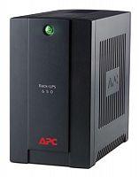 Источник бесперебойного питания APC Back-UPS BX650CI-RS 390Вт 650ВА черный