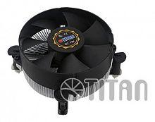 Устройство охлаждения(кулер) Titan DC-156V925X/RPW/CU25 Soc-1200/1150/1151/1155 4-pin 12-36dB Al+Cu 105W 285gr Ret