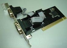 Контроллер PCI WCH351 2xCOM Bulk