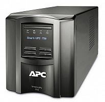 Источник бесперебойного питания APC Smart-UPS SMT750I 500Вт 750ВА черный