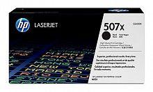 Картридж лазерный HP 507X CE400X черный (11000стр.) для HP CLJ M551