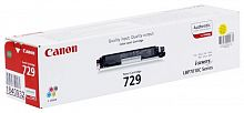 Картридж лазерный Canon 729Y 4367B002 желтый (1000стр.) для Canon i-Sensys LBP-7010C/7018C