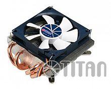 Устройство охлаждения(кулер) Titan TTC-NC25TZ/PW(RB) Soc-FM2+/AM2+/AM3+/AM4/1151/1200 4-pin 14-35dB Al+Cu 130W Ret