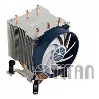 Устройство охлаждения(кулер) Titan TTC-NK35TZ/RPW(KU) Soc-FM2+/AM2+/AM3+/AM4/1151/1200 4-pin 10-27dB Al+Cu 140W Ret