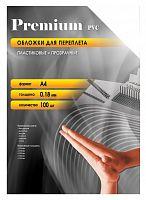 Обложки для переплёта Office Kit A4 прозрачный (100шт) PCA400180