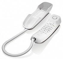 Телефон проводной Gigaset DA210 RUS белый