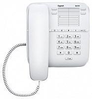 Телефон проводной Gigaset DA310 RUS белый