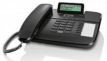 Телефон проводной Gigaset DA710 RUS черный