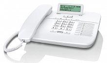 Телефон проводной Gigaset DA710 RUS белый