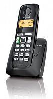 Р/Телефон Dect Gigaset A220 RUS черный АОН