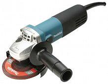 Углошлифовальная машина Makita 9558HNK 840Вт 11000об/мин рез.шпин.:M14 d=125мм