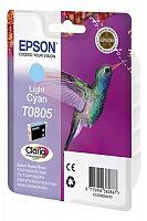 Картридж струйный Epson T0805 C13T08054011 светло-голубой (7.4мл) для Epson P50/PX660