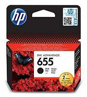 Картридж струйный HP 655 CZ109AE черный (550стр.) для HP DJ IA 3525/4615/4625/5525/6525