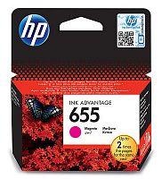 Картридж струйный HP 655 CZ111AE пурпурный (600стр.) для HP DJ IA 3525/4615/4625/5525/6525