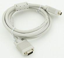 Кабель VGA (m) VGA (m) 3м феррит.кольца
