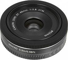 Объектив Canon EF STM (6310B005) 40мм f/2.8