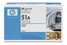 Картридж лазерный HP 51A Q7551A черный (6500стр.) для HP LJ P3005/M3035/M3027