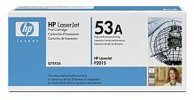 Тонер Картридж HP 53A Q7553A черный (3000стр.) для HP LJ P2015