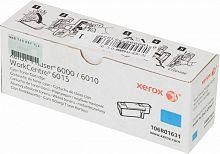 Картридж лазерный Xerox 106R01631 голубой (1000стр.) для Xerox Ph 6000/6010N/WC 6015