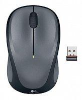 Мышь Logitech M235 серый/черный оптическая (1000dpi) беспроводная USB1.1 для ноутбука (2but)