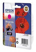 Картридж струйный Epson T1703 C13T17034A10 пурпурный (150стр.) (3.2мл) для Epson XP33/203/303