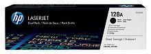 Картридж лазерный HP 128A CE320AD черный x2упак. (4000стр.) для HP CM1415/CP1525