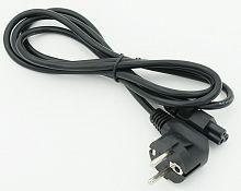 Кабель 469 IEC C5 (3-pin) Евровилка угловой 1.8м черный