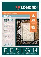 Бумага Lomond 0917041 A4/200г/м2/10л./белый матовое кожа для струйной печати