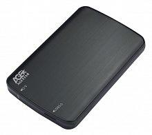 "Внешний корпус для HDD/SSD AgeStar 3UB2A12 SATA пластик/алюминий черный 2.5"""