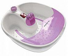 Гидромассажная ванночка для ног Polaris PMB0805 80Вт белый/фиолетовый