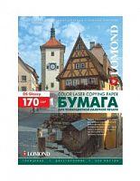 Бумага Lomond 0310241 A4/170г/м2/250л./белый глянцевое/глянцевое для лазерной печати