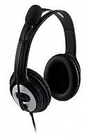 Наушники с микрофоном Microsoft LifeChat LX-3000 черный/серебристый 1.8м мониторные оголовье (JUG-00015)