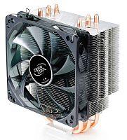 Устройство охлаждения(кулер) Deepcool GAMMAXX 400 Soc-FM2+/AM2+/AM3+/AM4/1150/1151/1155/2011/ 4-pin 18-30dB Al+Cu 130W 640gr LED Ret