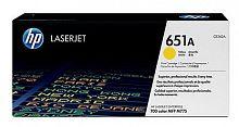 Картридж лазерный HP 651A CE342A желтый (16000стр.) для HP LJ 700/775