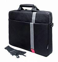 """Сумка для ноутбука 15.6"""" PC Pet HQ Classic черный полиэстер (PCP-1001RD)"""