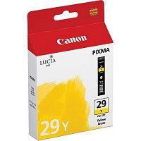 Картридж струйный Canon PGI-29Y 4875B001 желтый для Canon Pixma Pro 1