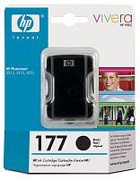 Картридж струйный HP 177 C8721HE черный (410стр.) для HP PS 3213/3313/8253